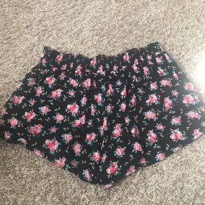Charlotte Russe Shorts - Floral shorts